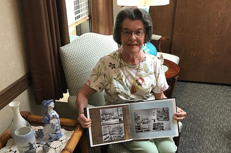 Resident Elaine Jensen